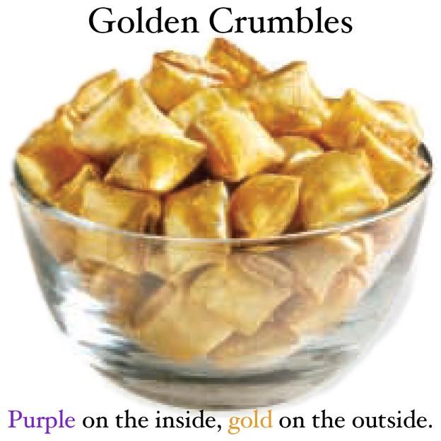 Kathryn Beich Golden Crumbles Candy