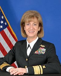 vice admiral hoewing was the keynote speaker at the decommissioning march 15 2005