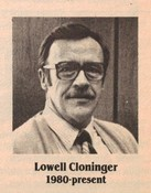 Lowell Cloninger (General Manager)