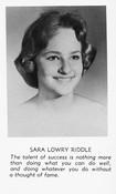 Sally Riddle (Marsh)