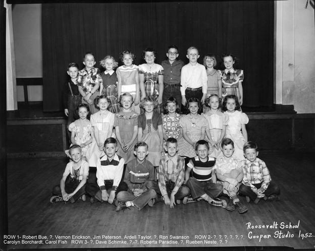 Roosevelt School - 1952