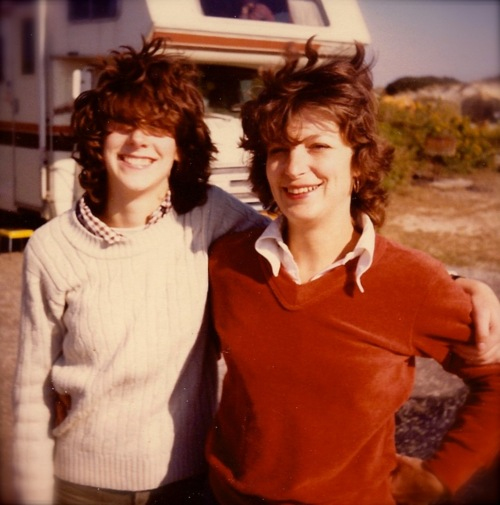 Anne and Karen Ryan about 1980.