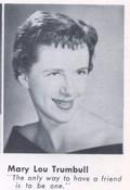 Mary Lou Trumbull (Hjort)