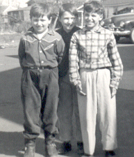 Gary Vreeland, Jimmy Haugh, Ralph Yachibuchi (Farview School - 4th Grade - 1955)