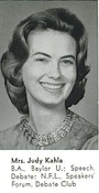 Mrs. Judy Kahla