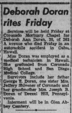 Coronado Journal- 8 Aug 1968